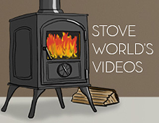 Stove World contemporary woodburning stove videos