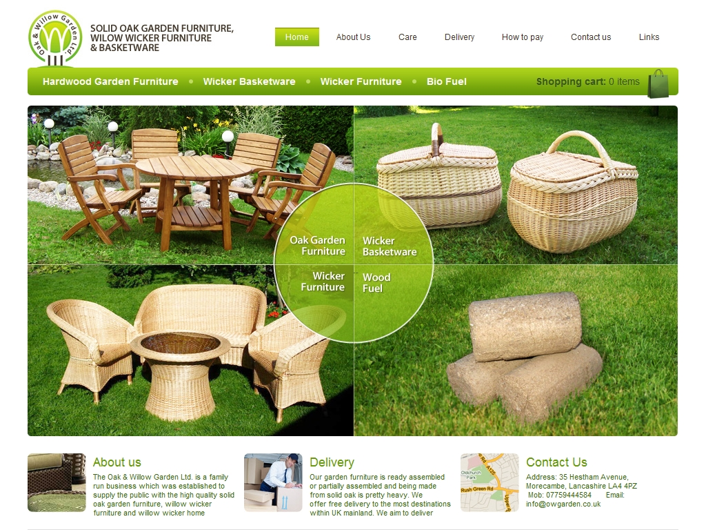 Oak & Willow Garden Ltd
