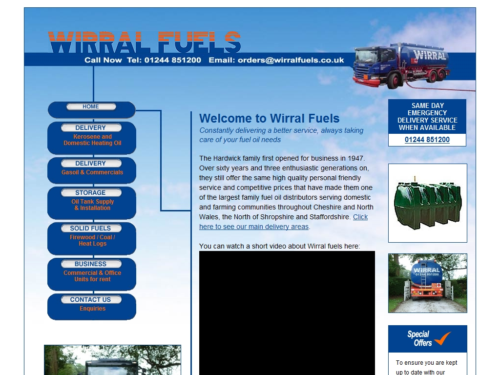 Wirral Fuels Services For Owners Of Woodburning Stoves