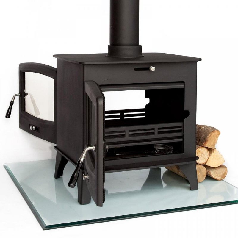Best NEW! Coseyfire 16kw DOUBLE SIDED Multi-Fuel Woodburning Stove  SW03
