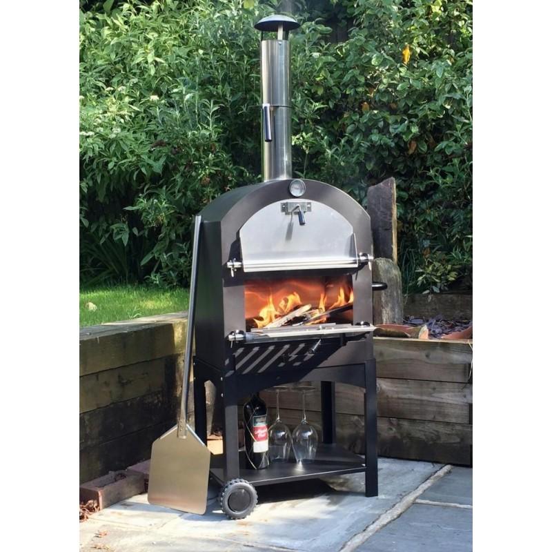 Cove pizza oven outdoor oven garden oven side bbq for Garden ovens designs