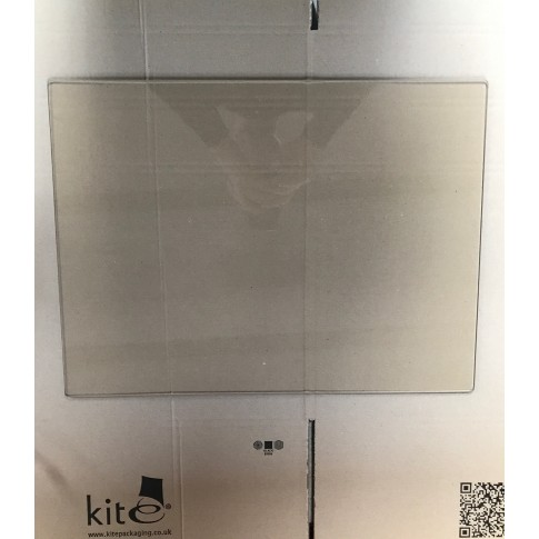 Replacement glass pane for 30kw BOILER multi-fuel stove 512mm x 375mm