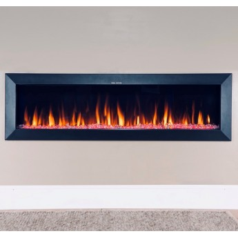 "1524mm Wide ""SW-FIRE Aspect"" Insert or Wall Hung Designer Electric Fireplace -  2020 Model"