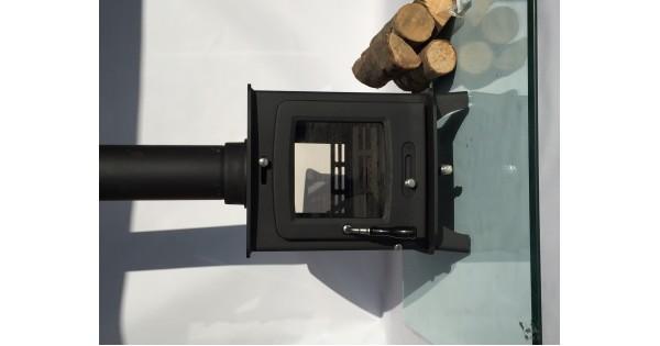 Ecosy 8kw Double Sided Multi Fuel Woodburning Stove