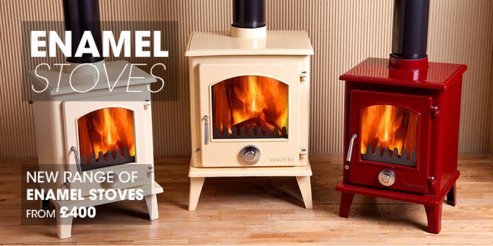 Stove World Enamel Woodburning Stoves