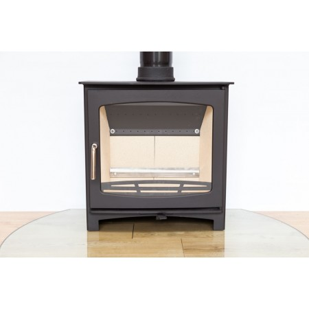 Replacement glass pane for Purefire 7-8kw Curve multi-fuel stove
