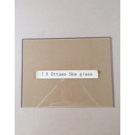 Replacement glass pane for Ecosy+ Ottawa 5kw multi-fuel stove