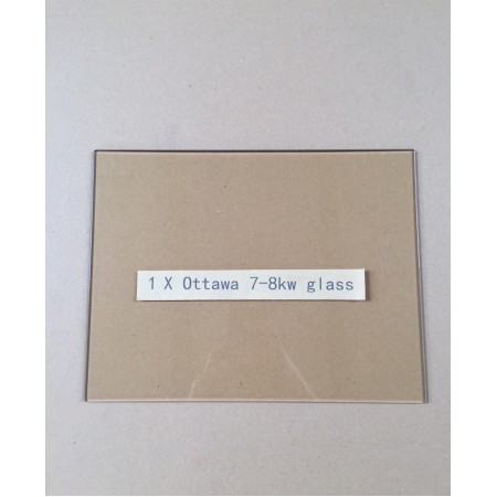 Replacement glass pane for Ecosy+ Ottawa 7-8kw multi-fuel stove