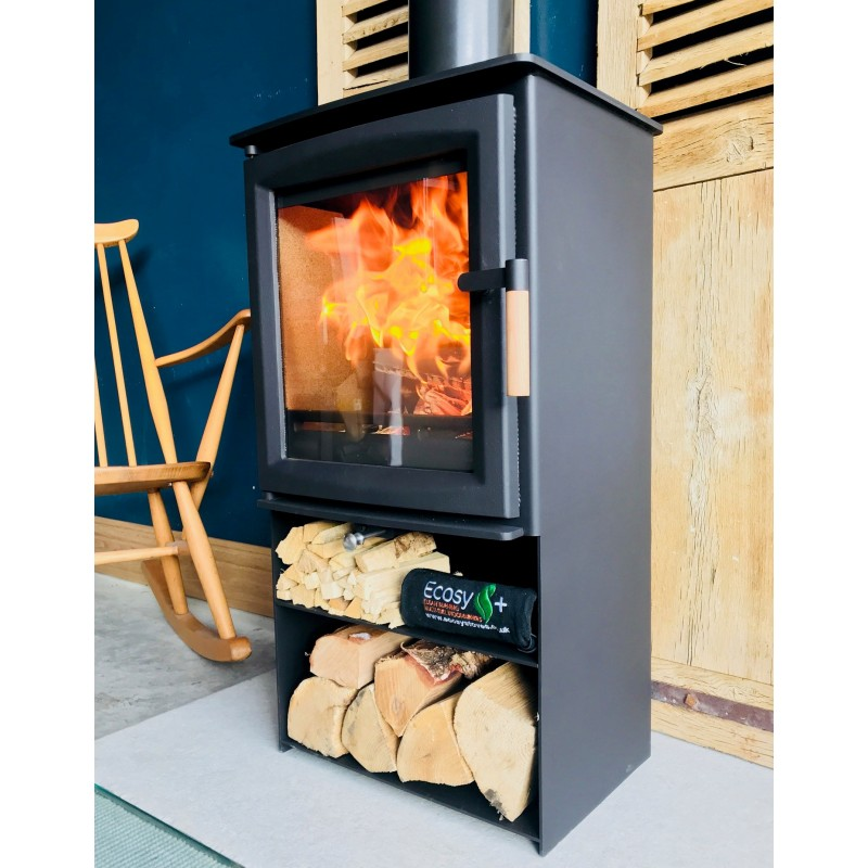 b5a185b0a4c1 Defra Approved Ecosy+ Hampton 5 Eco Design Wood Burning Multi Fuel Stove