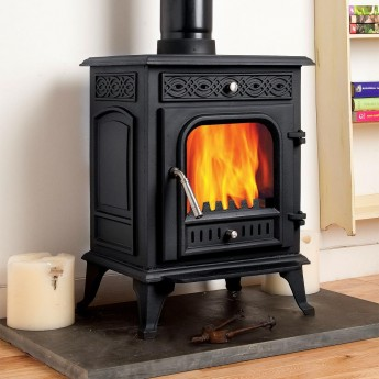 Pentridge Multi-Fuel Cast Iron Woodburning Stove Stoves 7-8kw