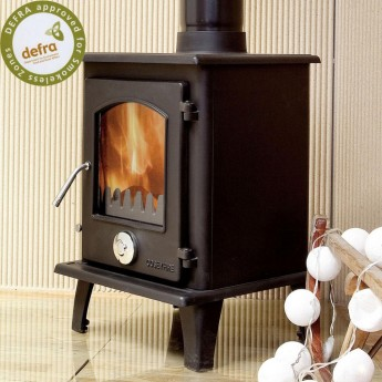 DEFRA APPROVED Coseyfire Petit Multi-Fuel Woodburning Stove 5kw, WITH SECONDARY BURN
