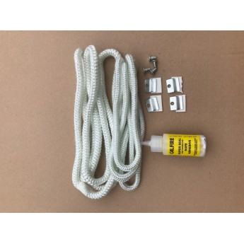 Replacement Fire Rope Kit for Ottawa 5kw (Defra and Standard)