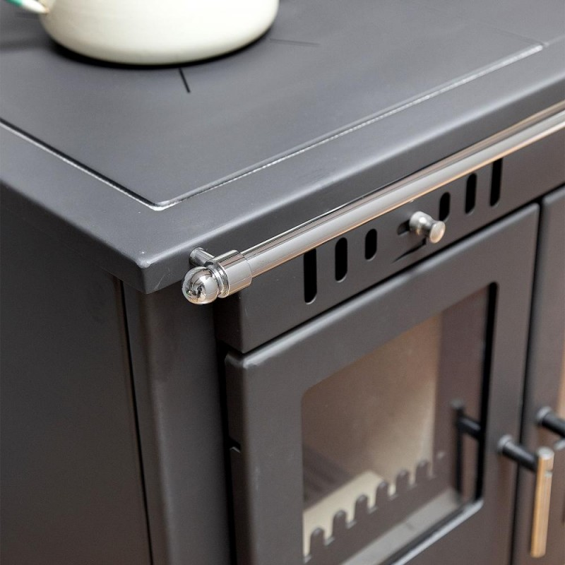 victoria eco multi fuel woodburning range cooker boiler. Black Bedroom Furniture Sets. Home Design Ideas