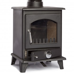 Coseyfire Crofter 5kw Cast iron Woodburning  Multi Fuel Stove.