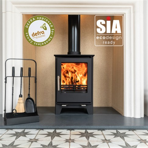 Ecosy+ Snug 5kw  Multi-Fuel, 2022 Eco Design Ready , Defra Approved Stove