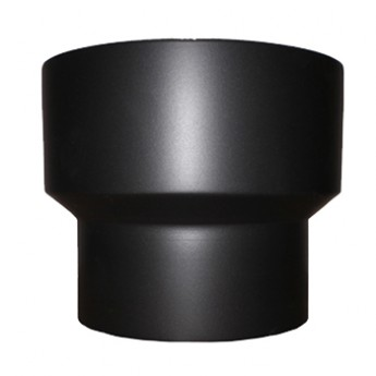"125mm (5"") to 150mm (6"")  Black Vitreous Adapter"