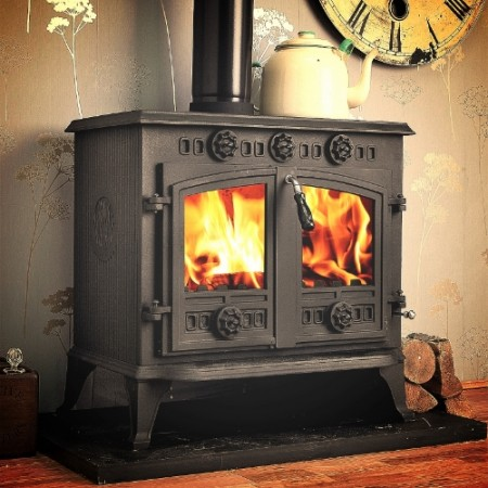 Winterwarm Multi-Fuel Woodburning BOILER Stove 12kw