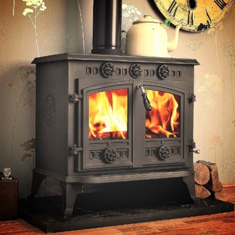 Winterwarm Multi Fuel Wood Burning Boiler Stove 12kw