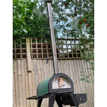 Cove Pizza Oven 1000mm Chimney Extension