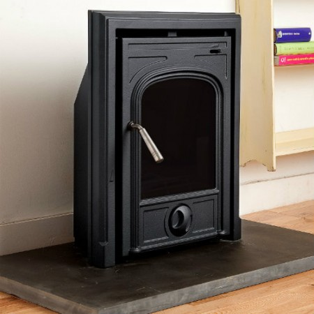 Coseyfire CL50 Insert Multi-Fuel Woodburning Stove 4.5kw, With convection