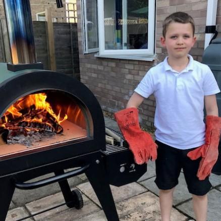 Green Machine Outdoor Pizza Oven