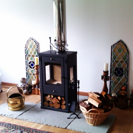 Tulin Contemporary Woodburning Stove 7-8kw