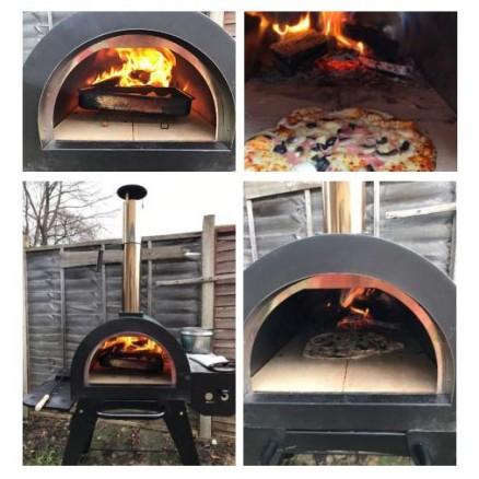 Green Machine Pizza Oven