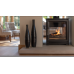 Ecosy+ Hampton 6.4 Double Sided, Defra Approved, Ecodesign Ready (2022), Wood Burning Stove