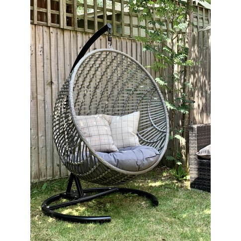 Cove XL Hanging  Rattan Nest Chair