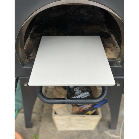 "12"" (304mm) Refractory Clay Pizza Stone - Pizza Oven Stone (Cove)"