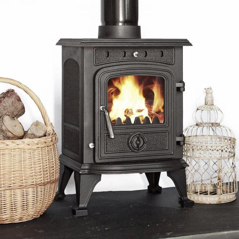 Highclere Multi Fuel Wood Burning Stove