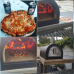 Dome (No stand)  Outdoor Stainless Steel Stone Base Pizza Oven, Garden Oven, Smoker, BBQ