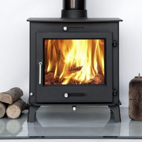 Ecosy+ Ottawa 12kw Clean Burn BOILER Multi-Fuel Woodburning Stove