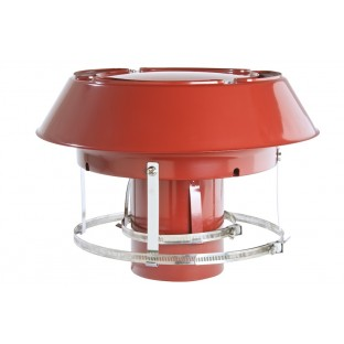 """5"""" 125mm Colt Anti Down Draught Pot Hanging Cowl, Chimney Liner Cowls,"""