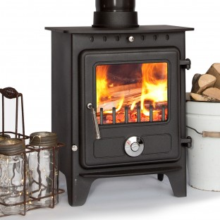 5kw Coseyfire Elegance CLEAN BURN Contemporary Modern Woodburning Stove Multi Fuel