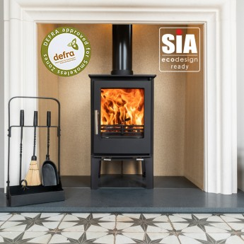 Ecosy+ Snug 5kw  Tall Multi-Fuel, 2022 Ecodesign Ready, Defra-Approved Stove