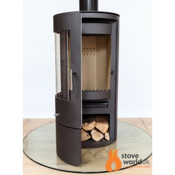 Orion - Cylindrical - Circular  7-10kw Woodburning Multi-Fuel Stove
