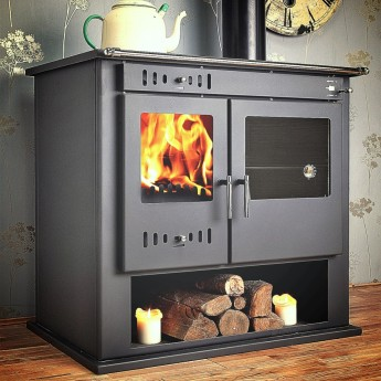 Victoria  Multi-Fuel Woodburning Range Cooker Stove 12kw