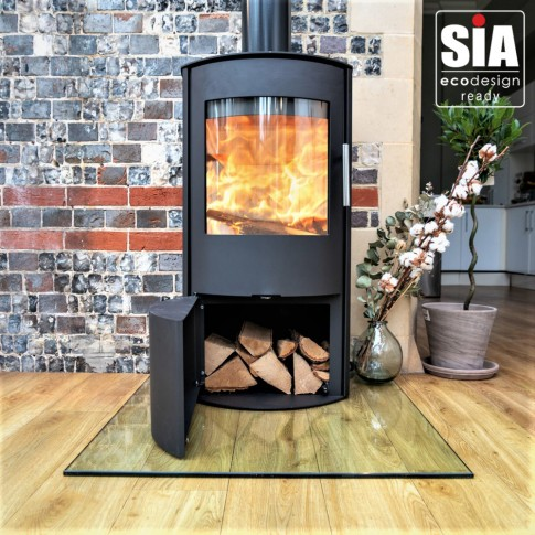 Zona Arch 5kw Eco Design 2022 Woodburning, Multi-Fuel Stove, European Built