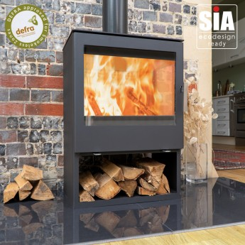 Zona Modena 9-10kw Multi-Fuel Stove - Ecodesign, European Built