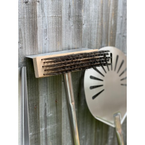 1160mm Long Stainless Steel Professional Pizza Oven Cleaning Brush Scraper
