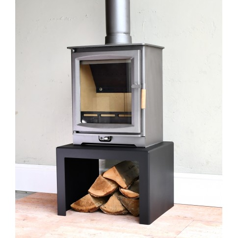 Universal Woodburning Stove Stand / Bench  500w x 400d x 350h
