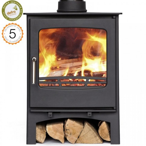 Defra Approved Ecosy+ Purefire 7-8kw Curve Woodburning Stove 5 year guarantee
