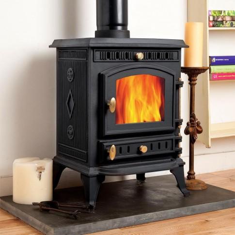 Woodsman Multi-Fuel Woodburning Stove 7kw