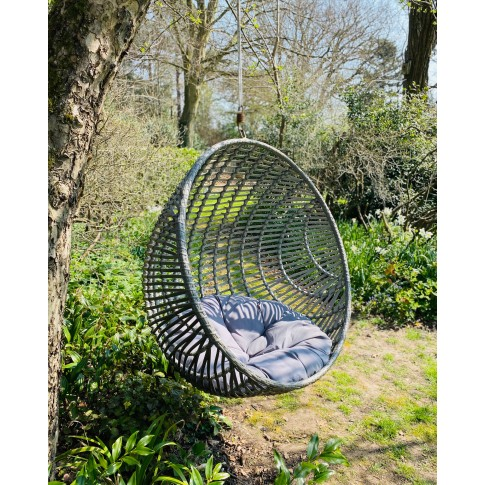 Cove XL Hanging Rattan Nest Chair - Tree Hung