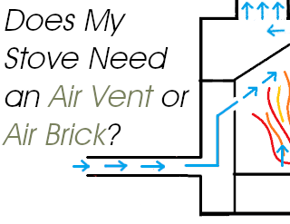 Does My Stove Need an Air Vent or Air Brick?
