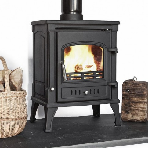 OFFER! Vision 2 Multi-Fuel Woodburning Stove Log Burner 7-8kw