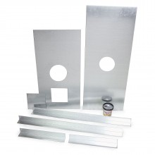 "Register Plate Kit 6"" 1000mm x 400mm NO inspection plate"