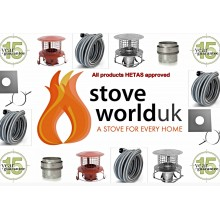 "Build your own  Liner Kit for Woodburning Stove with 6"" (150mm) liner (From £108.75)"