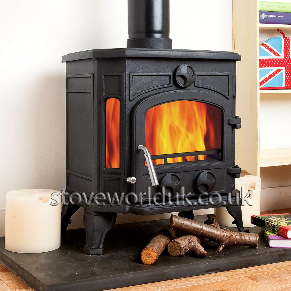 Coseyfire 16 multi fuel woodburning stove 8kw for Most efficient small wood burning stove